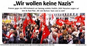 Wir wollen keine Nazis